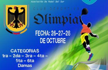 Campeonato Padel Octubre 2018